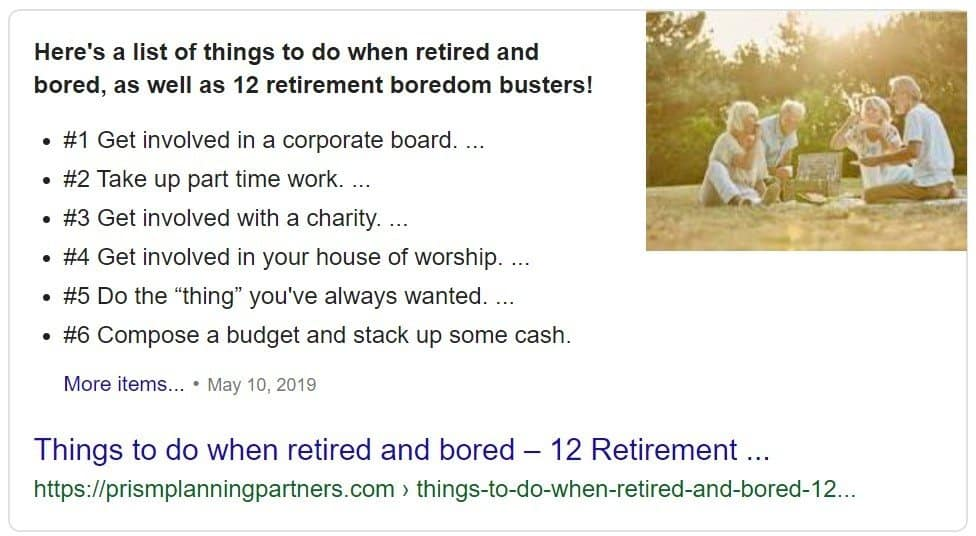Retired and Bored to Death, Why You Should Never Retire, Never Retire